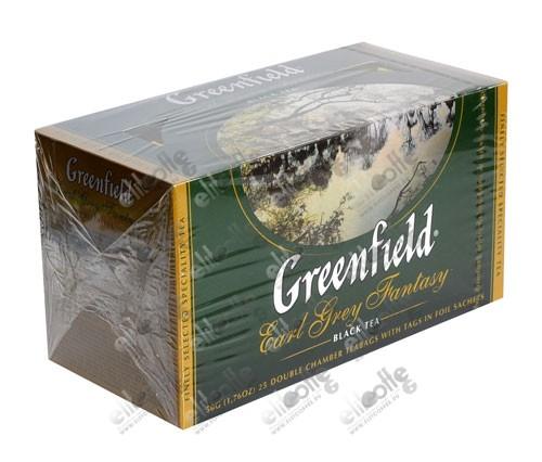 чай гринфилд с бергамотом купить